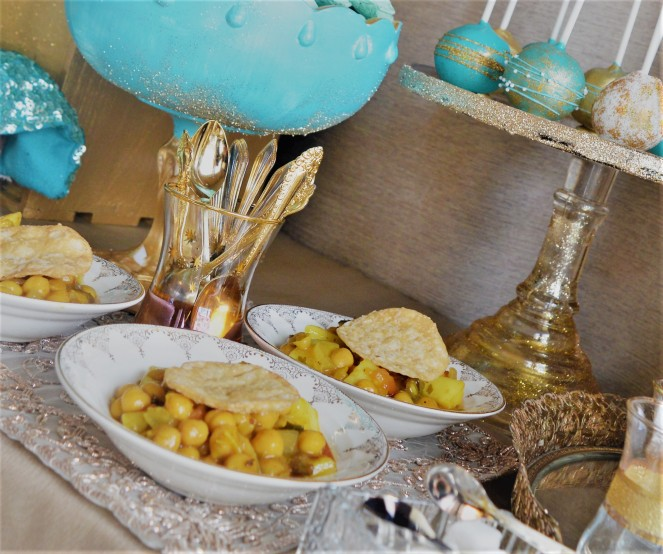 Channa chaat - so specific to Eid!